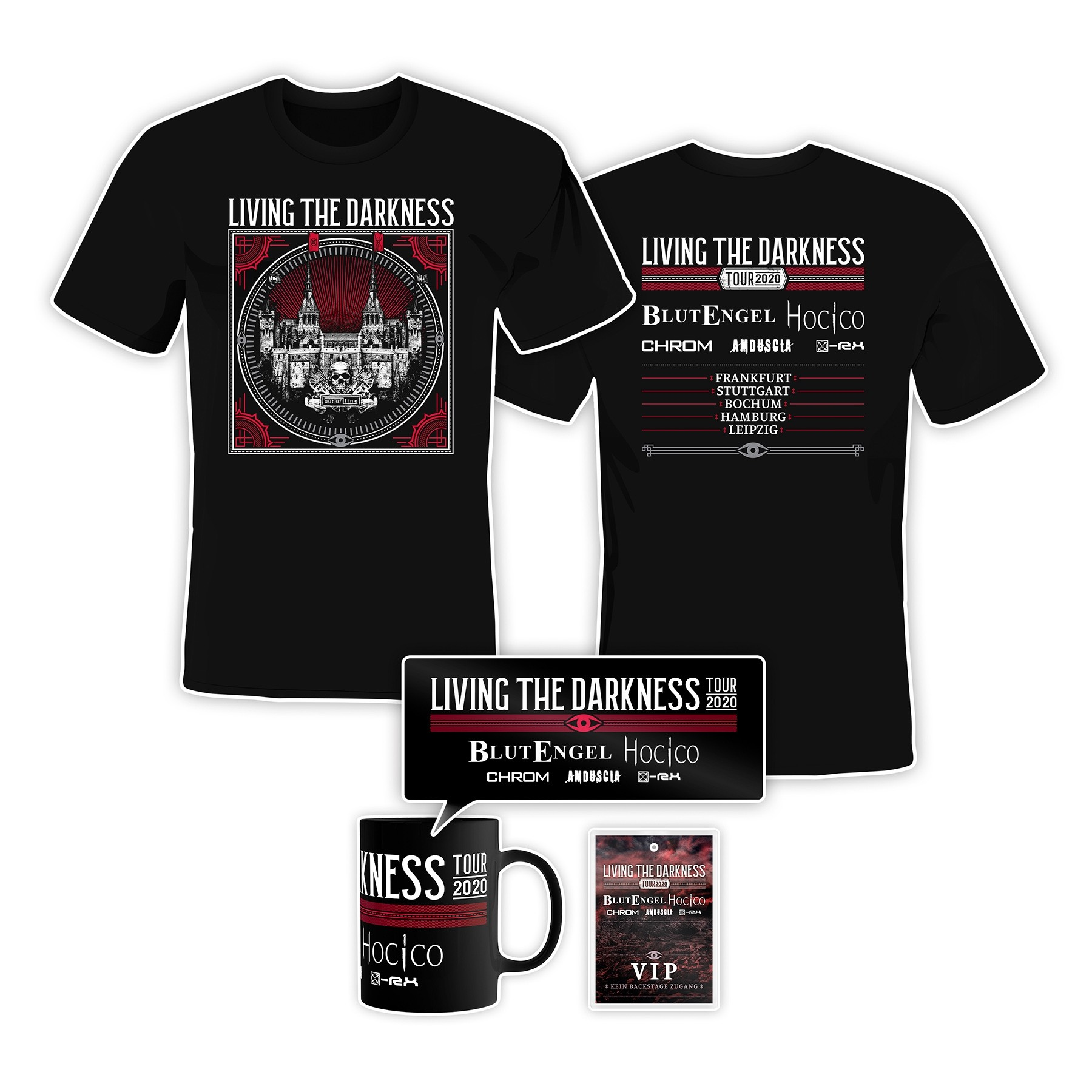 Living The Darkness Tour 2020 - VIP Bundle (Incl. Meet & Greet)