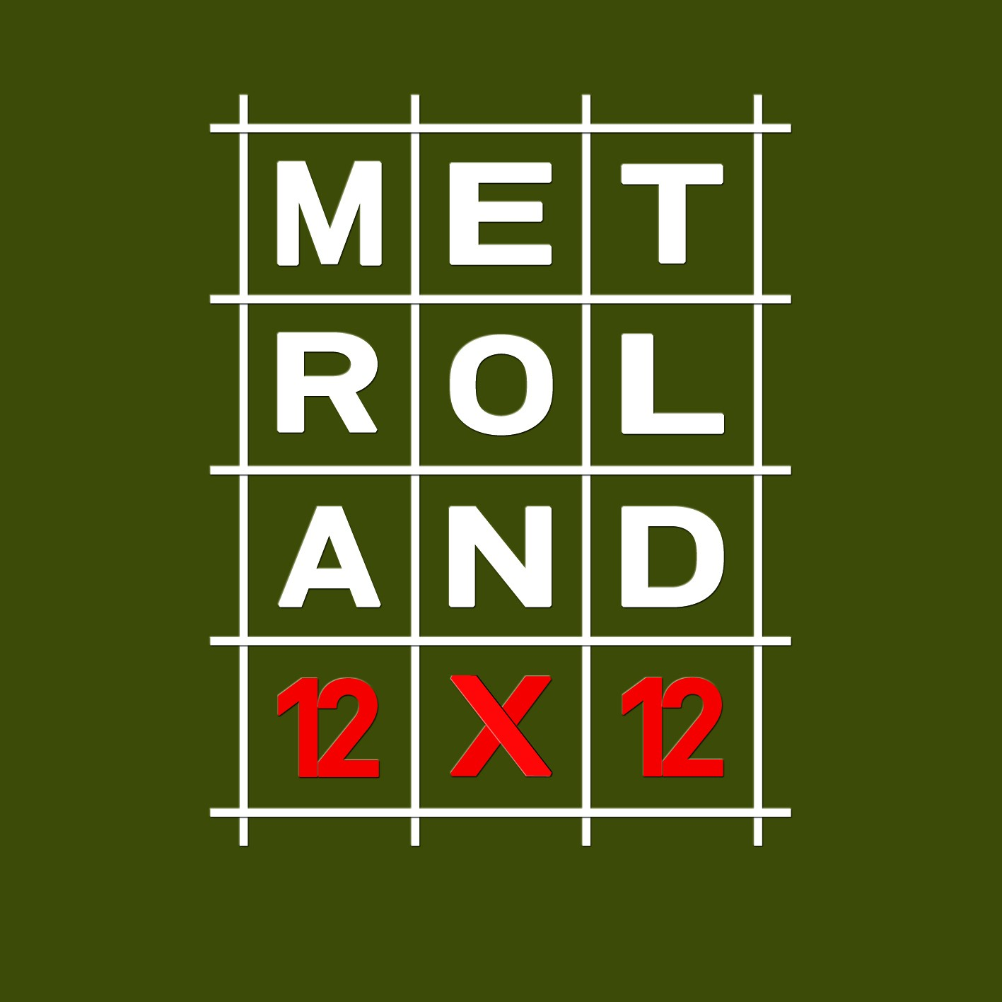 Metroland - 12x12 - 4CD Box