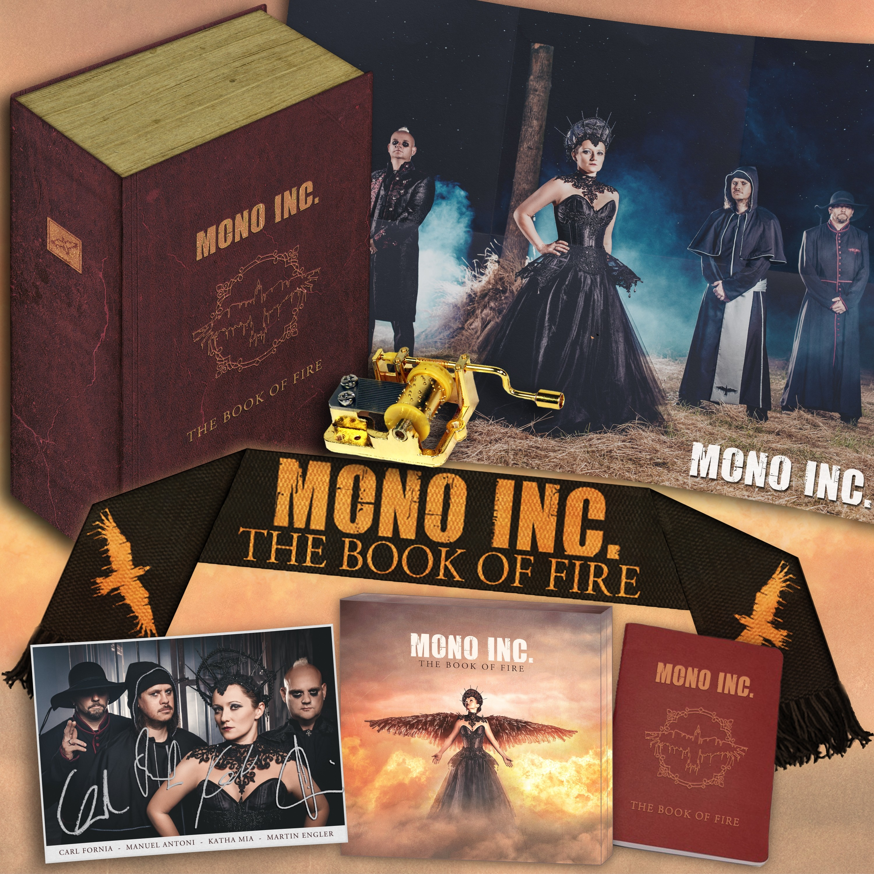 Mono Inc. - The Book Of Fire (Limited Fanbox) - BOX