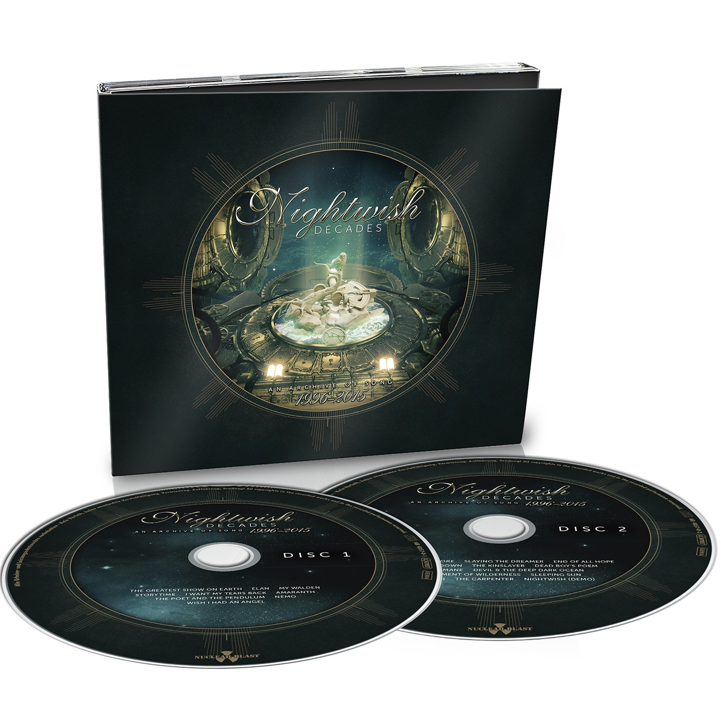 Nightwish - Decades - 2CD