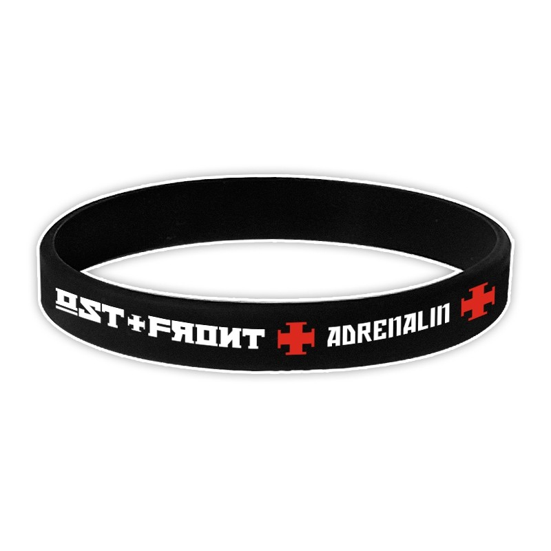 OST+FRONT - Adrenalin - Silikonarmband/Silicone Wrist Band
