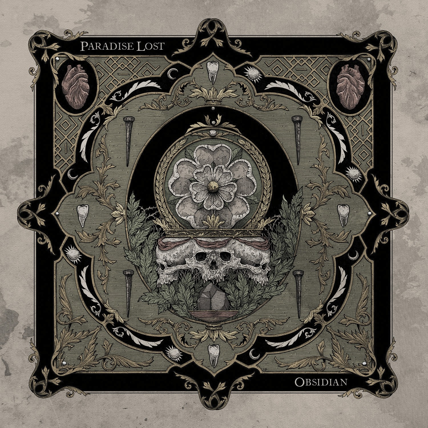 Paradise Lost - Obsidian - CD