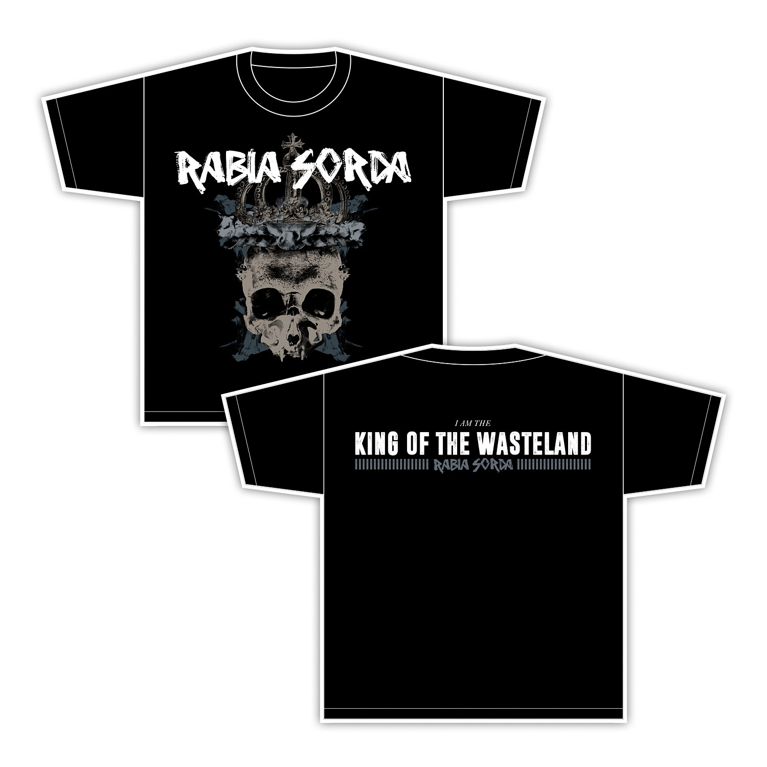 Rabia Sorda - King Of The Wasteland - T-Shirt