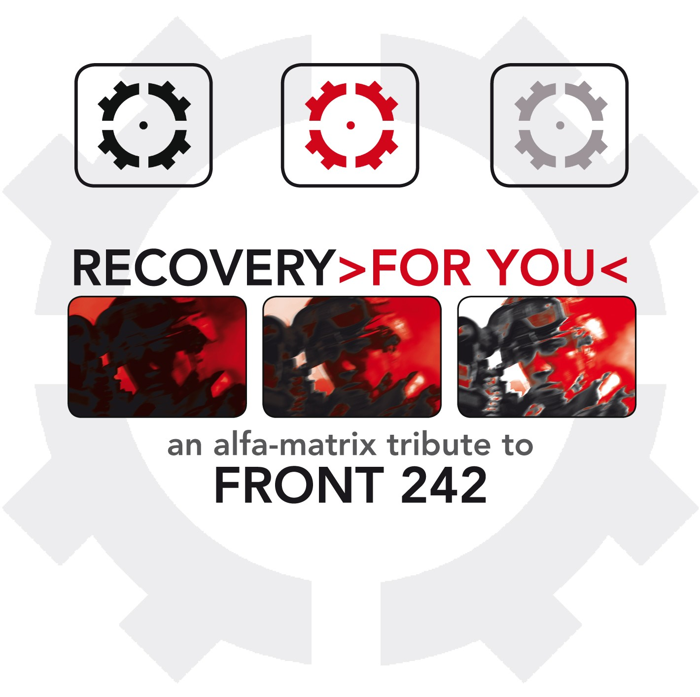 V.A. - Recovery >for you< - Tribute to Front 242 - 2CD