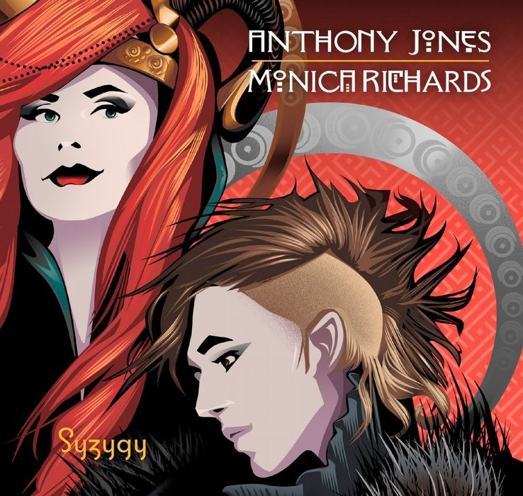 Monica Richards & Anthony Jones - Syzygy - CD