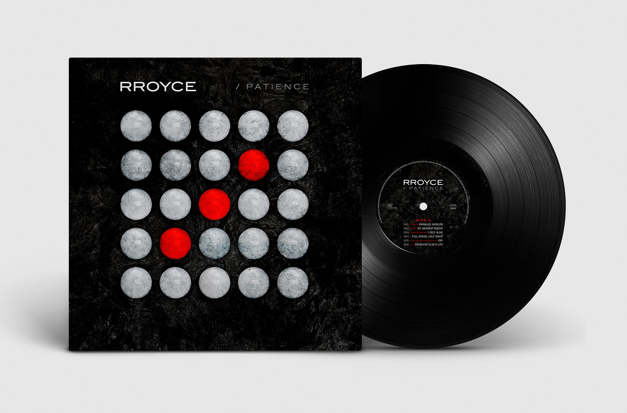 Rroyce - Patience (Limited Edition) - LP