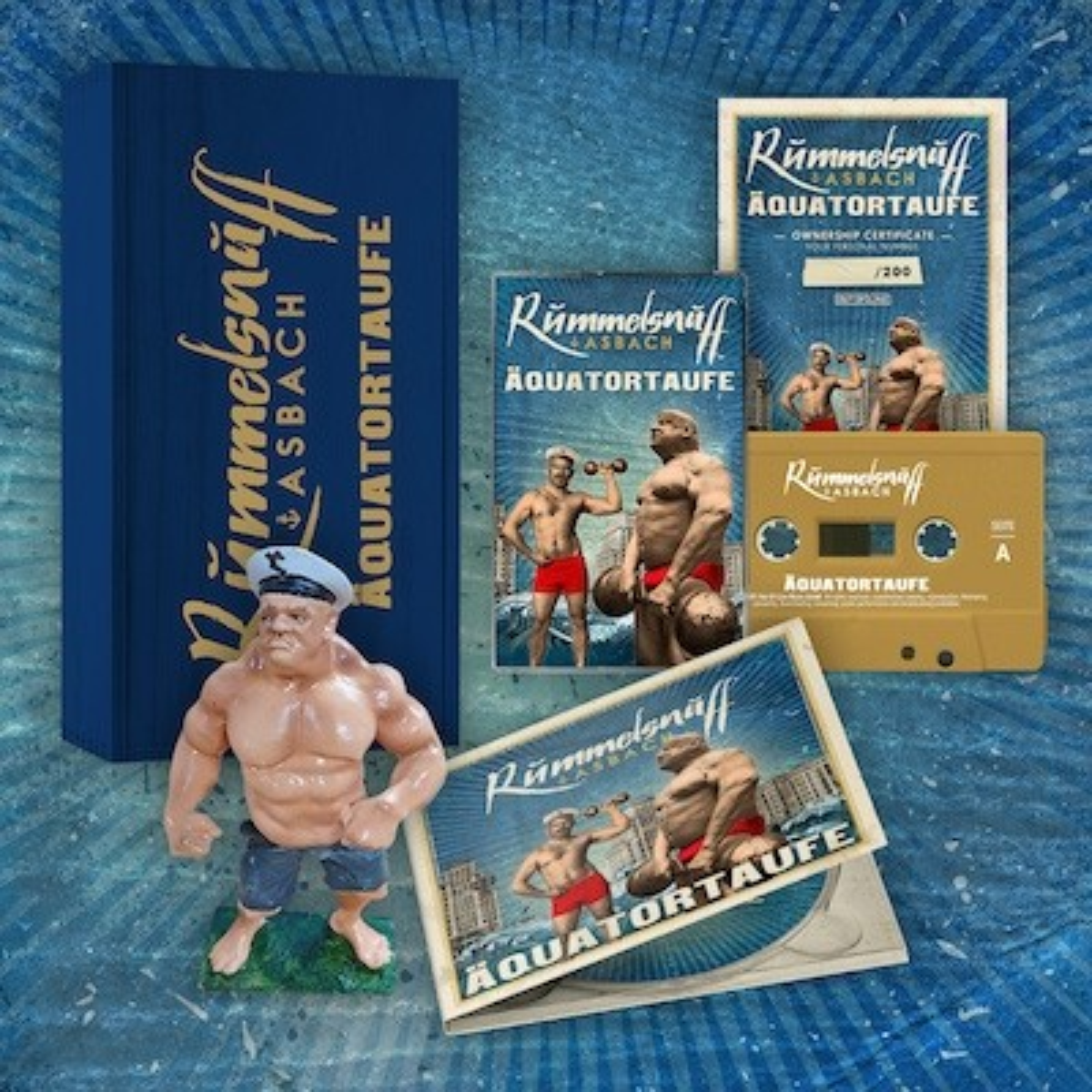 Rummelsnuff & Asbach - Äquatortaufe - BOX (Inkl. MC)