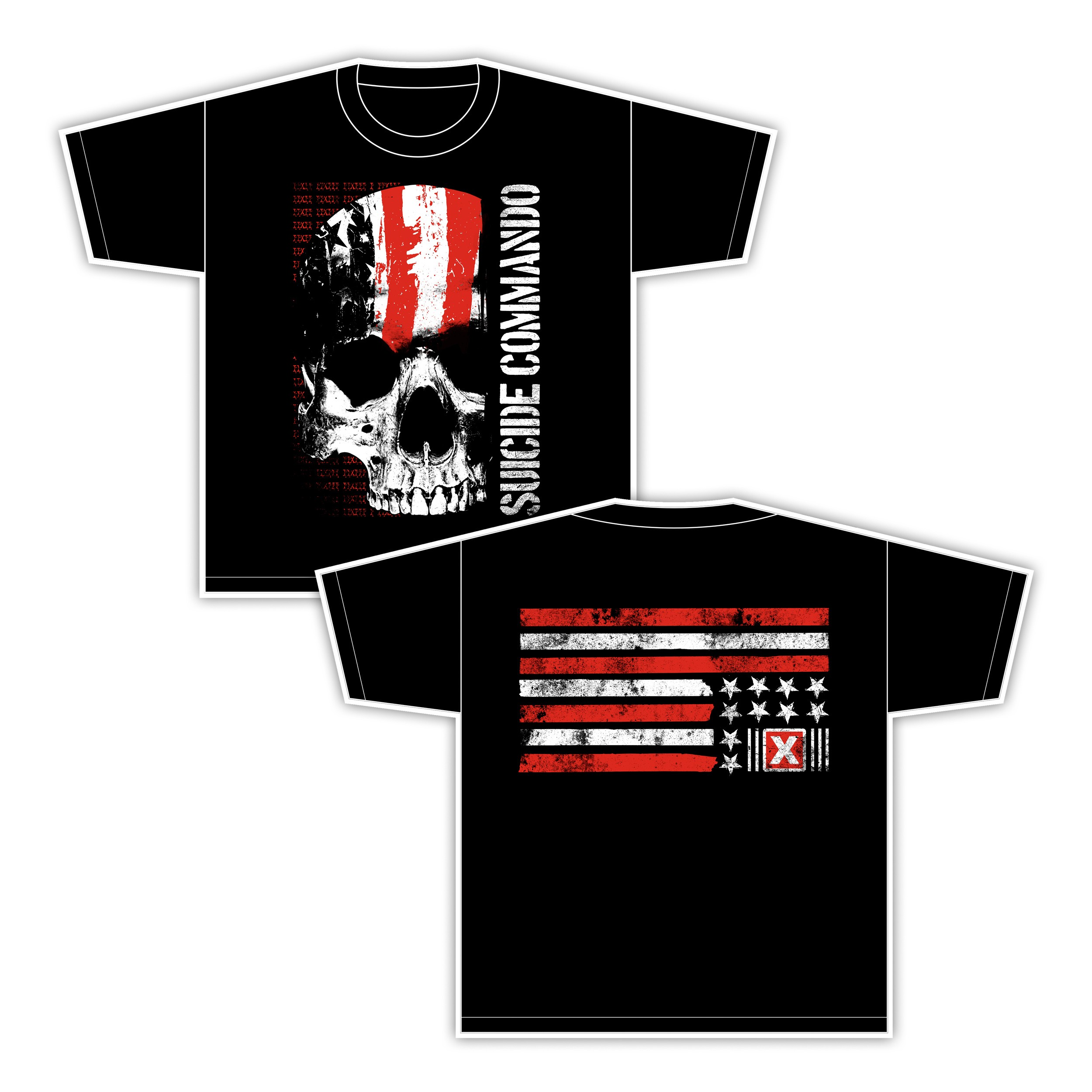 Suicide Commando - Flag - T-Shirt