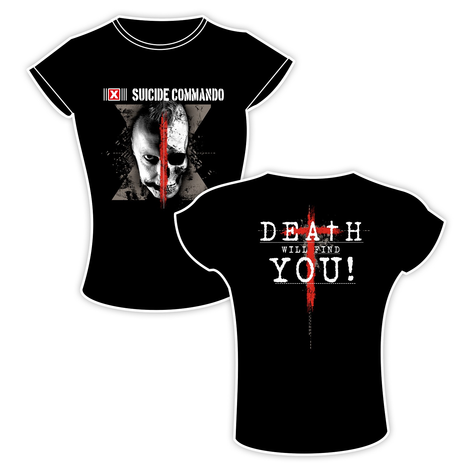 Suicide Commando - Death Will Find You - Girlie