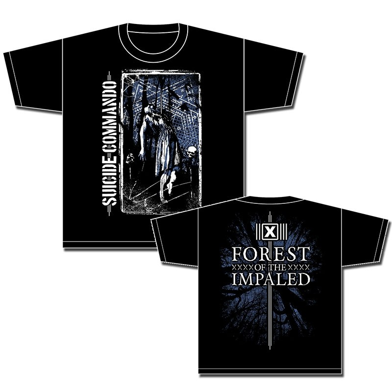 Suicide Commando - Forest Of The Impaled - T-Shirt