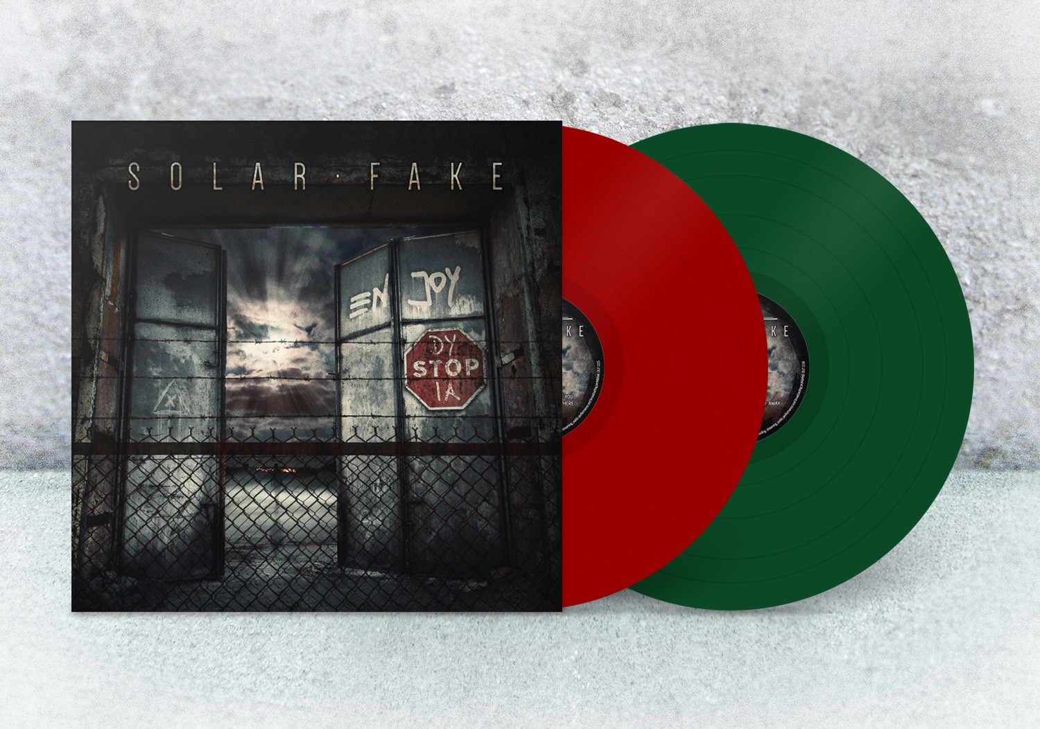 Solar Fake - Enjoy Dystopia (Limited Colored Vinyl) - 2LP