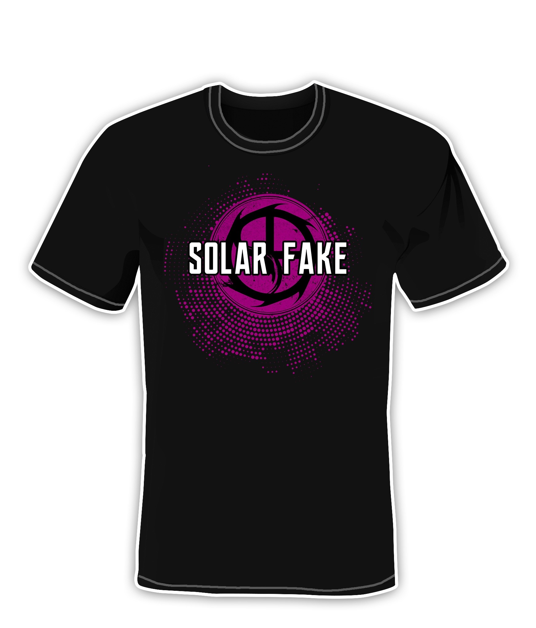 Solar Fake - Who Cares, It's Live - T-Shirts