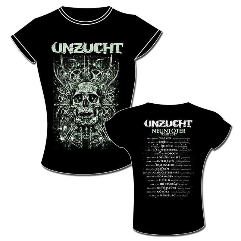 Unzucht - Tour 2017 - Girlie Shirt