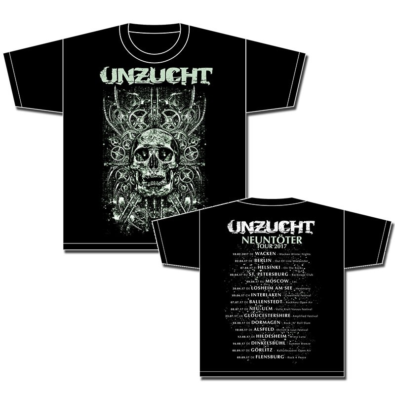 Unzucht - Tour 2017 - T-Shirt