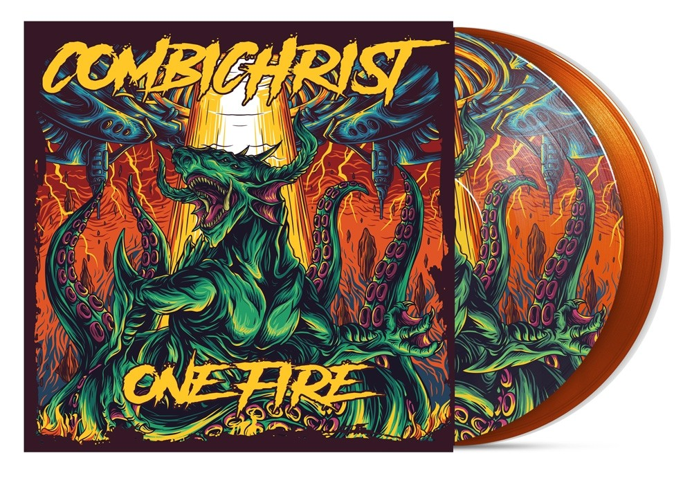 Combichrist - One Fire Vinyl (Earthling Edition) - Orange Picture Vinyl