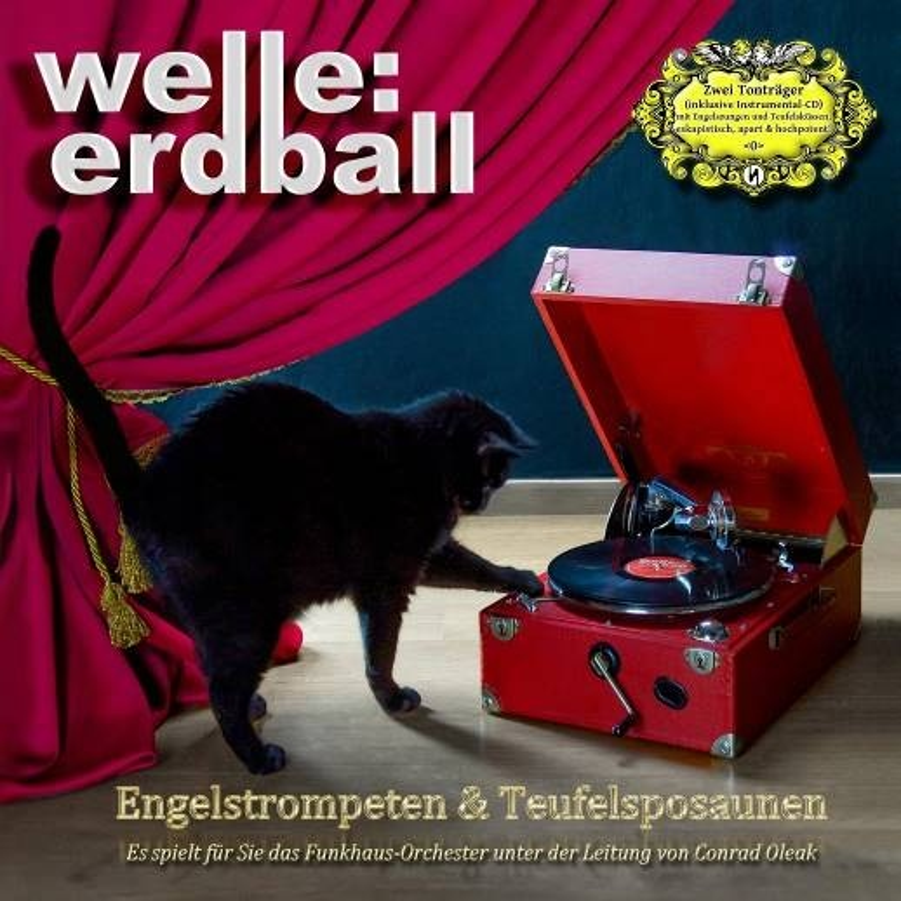 Welle: Erdball - Engelstrompeten & Teufelsposaunen - 2CD