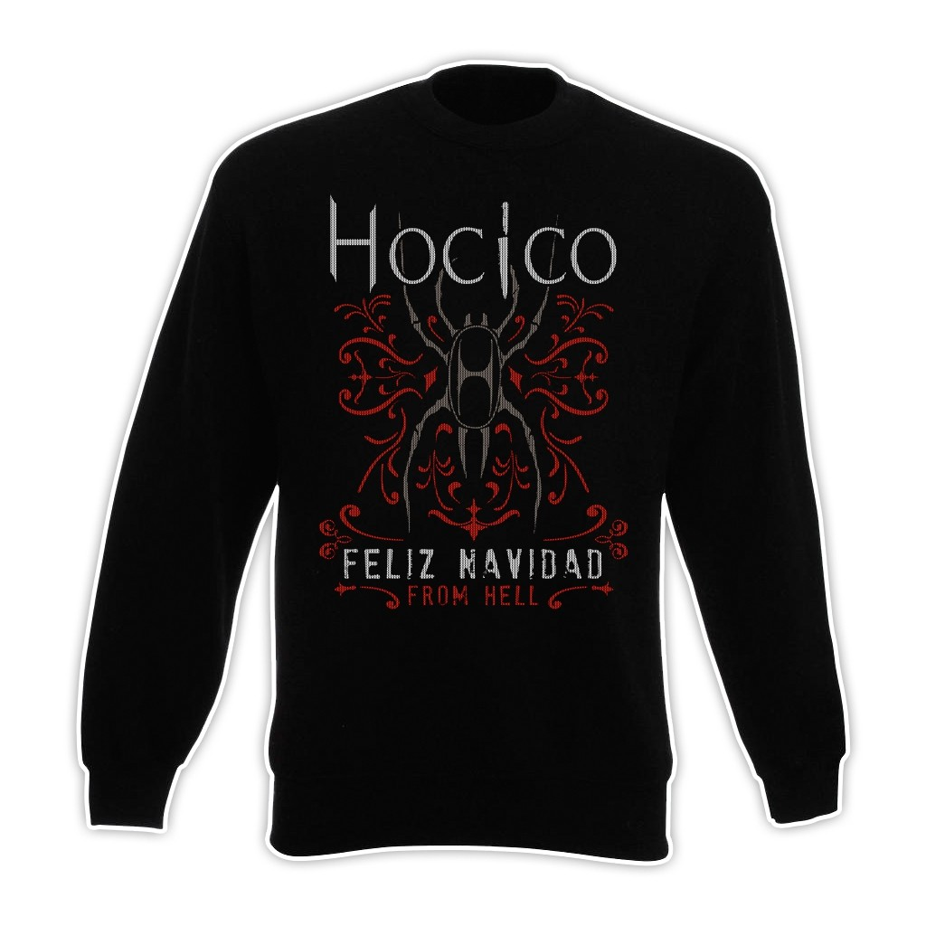 54831b1b6e1c Out of Line Shop Hocico - Feliz Navidad From Hell - Pullover/Sweater ...