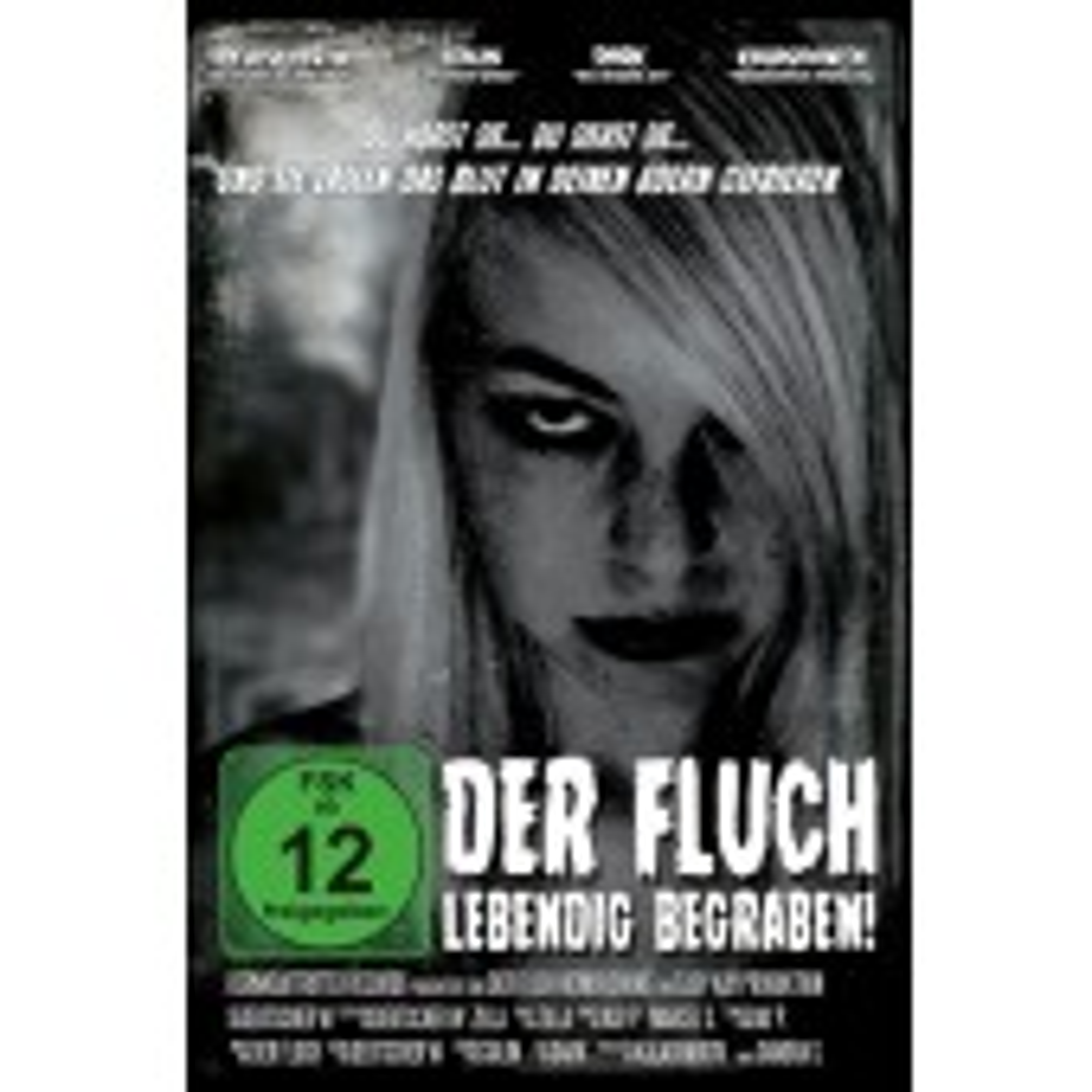 Der Fluch - Lebendig begraben - DVD