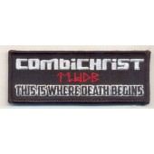 Combichrist - This Is Where Death Begin - Aufnäher
