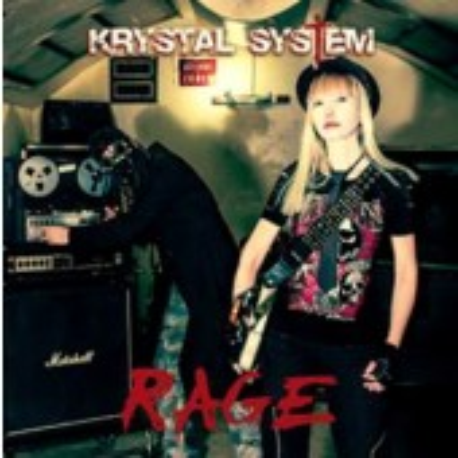 Krystal System - Rage - CD