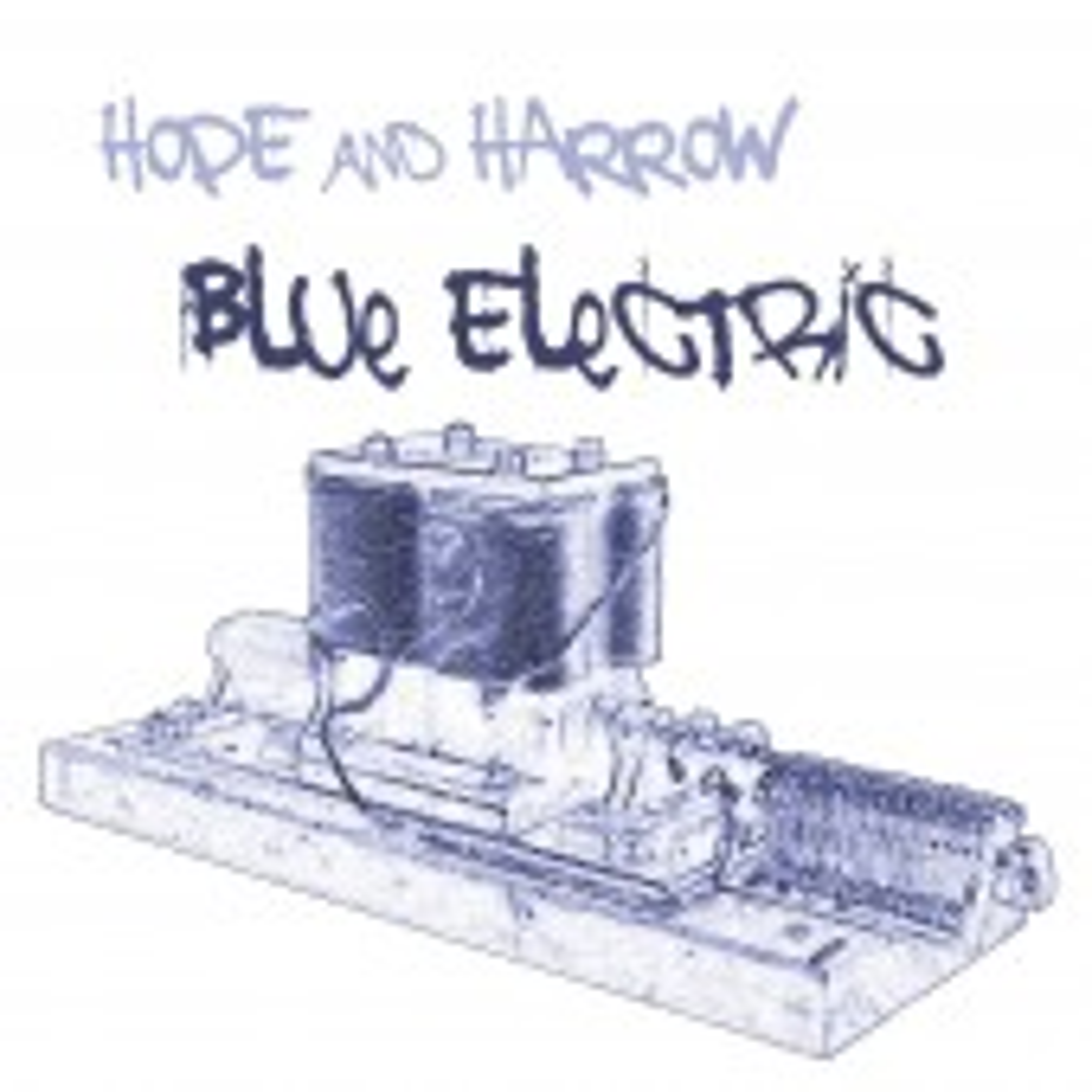 Peter Hope + David Harrow - Blue Electric - CD