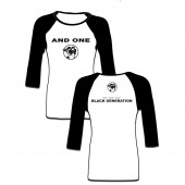 And One - Black Generation NEW - Raglan Girlie
