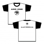 And One - Black Generation NEW - Baseball Shirt