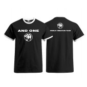 And One - World Vibration Tour - T-Shirt