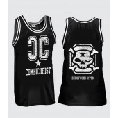 Combichrist - Zero Fucks Given - Basketball Shirt