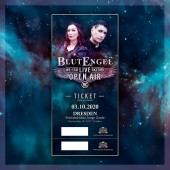 Blutengel - We Stay Live Together - 03.10.20 - Freilichtbühne - Junge Garde/ Dresden