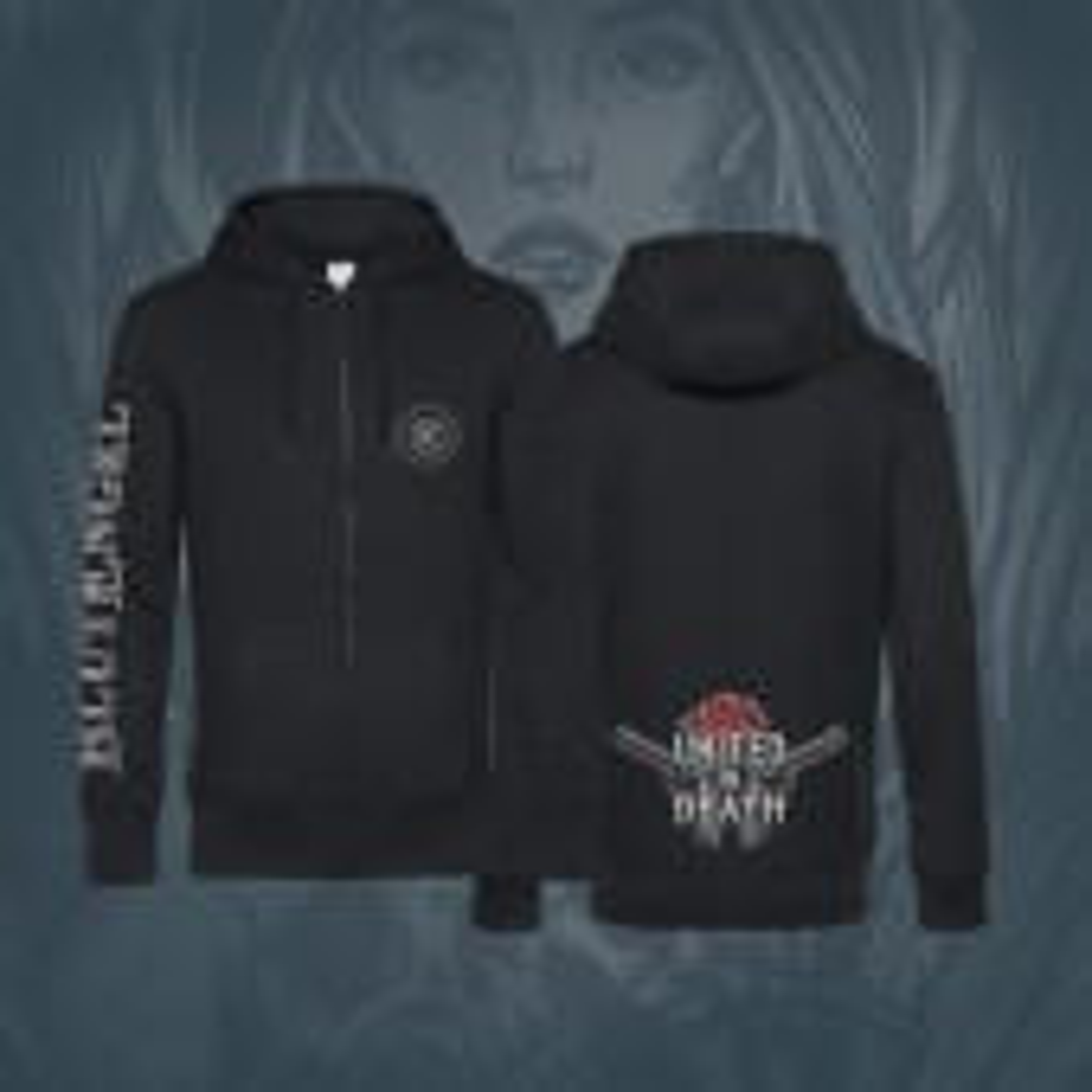 Blutengel - United In Death - Kapuzenjacke/Hoodie