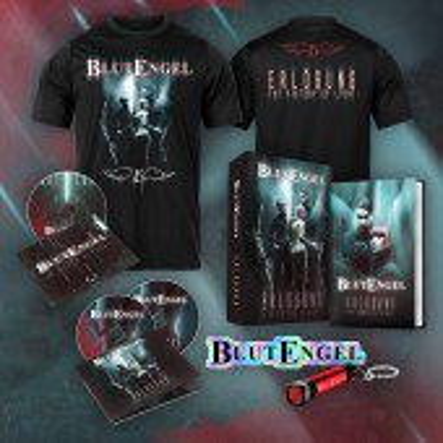Blutengel - Erlösung - The Victory Of Light - BOX+T-Shirt Bundle