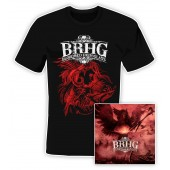 Bloodred Hourglass - Godsend - CD/T-Shirt Bundle