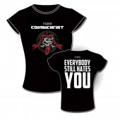 "Combichrist - ""This is where death begins"" (Everybody still hates you) - Girlie - Girlie Shirt"
