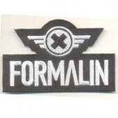 Formalin - Logo -  - iron-on Patch
