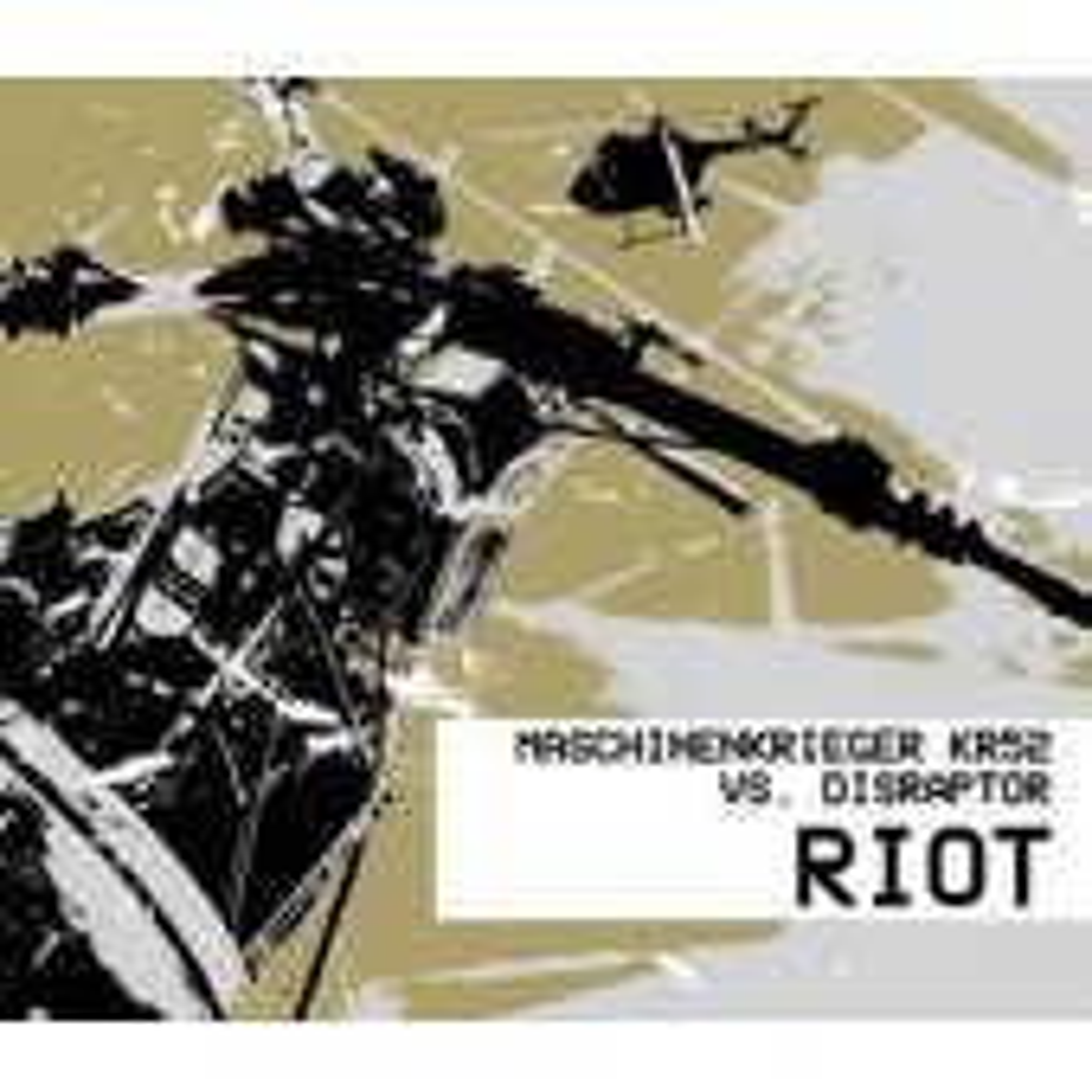 Maschinenkrieger KR 52 vs. Disraptor - Riot - CD