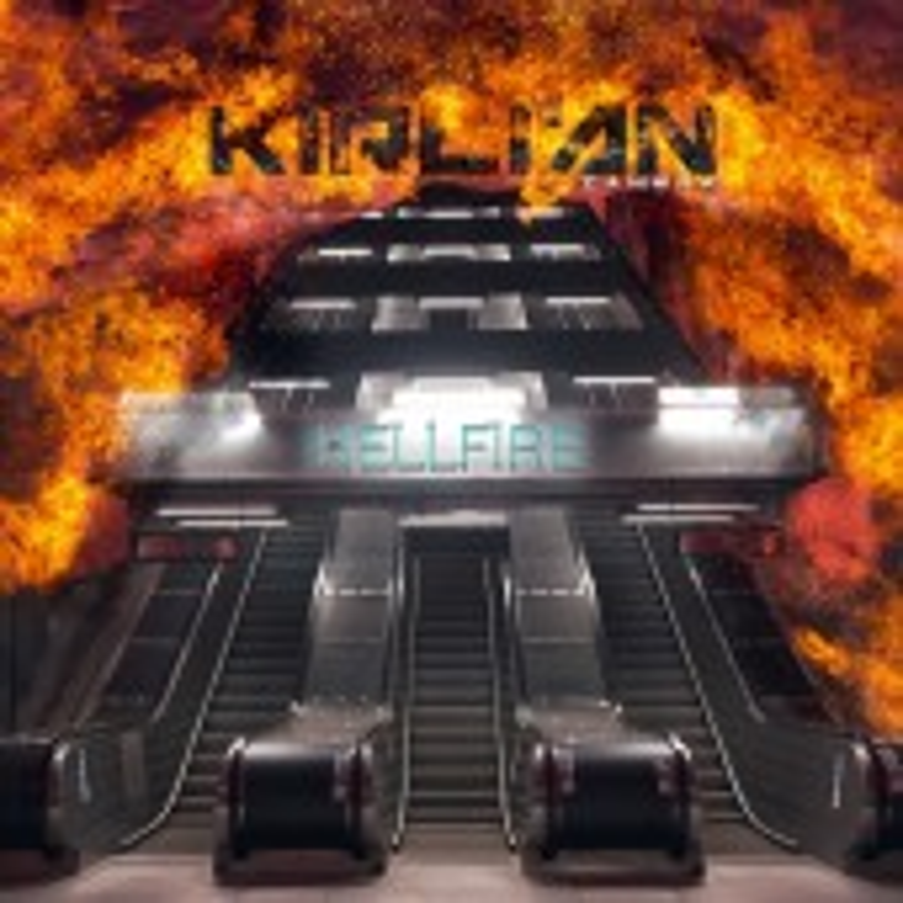 Kirlian Camera - Hellfire (Limited Black Vinyl) - LP EP