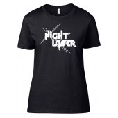 Night Laser - Logo - Girlie Shirt