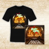 Night Laser - Power To Power - T-Shirt/CD Bundle