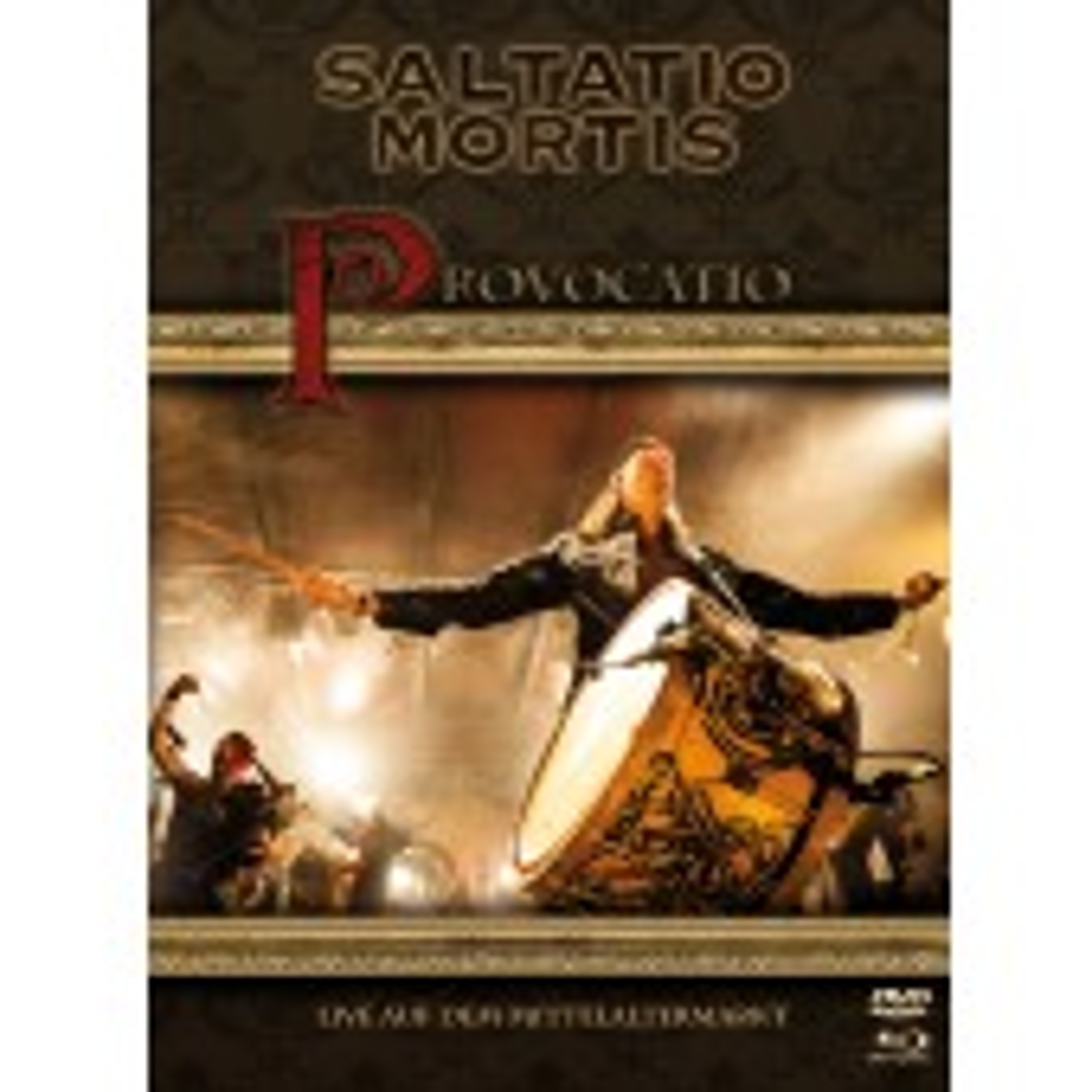 Saltatio Mortis - Provocatio – Live auf dem Mittelaltermarkt - DVD - 2DVD + BluRay