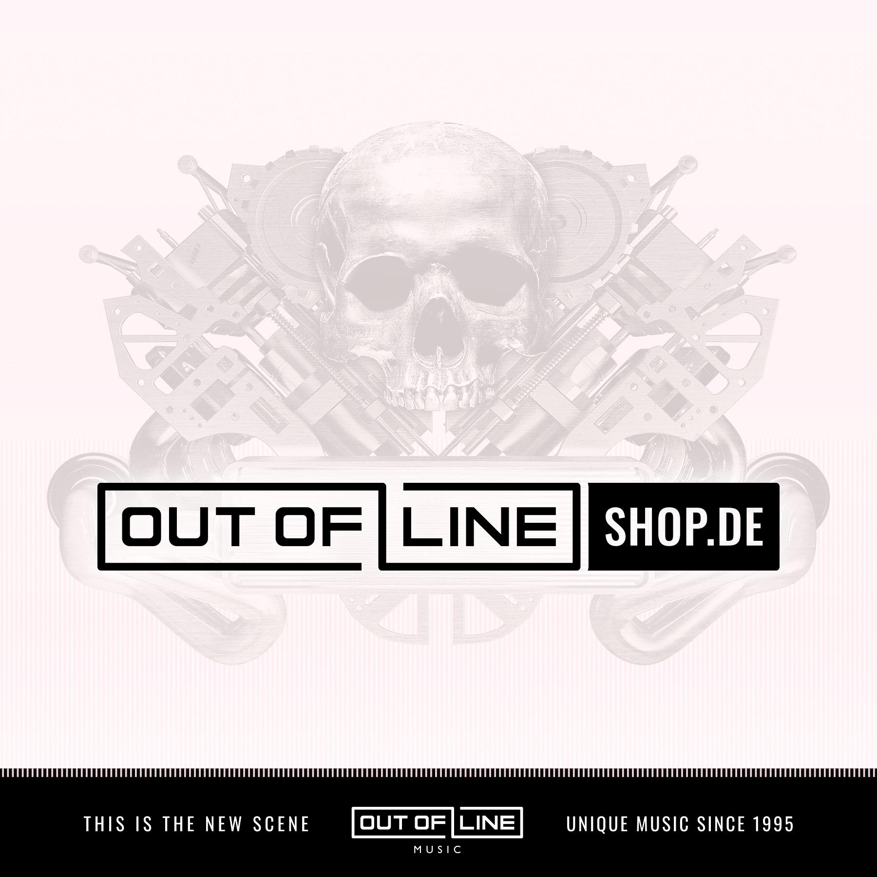 Front 242 - No Comment & Politics of Pressure (clear orange & black mixed) - 2LP+CD