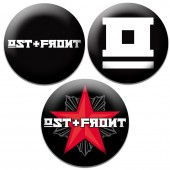 OST+FRONT - 3 Buttons - Button Set