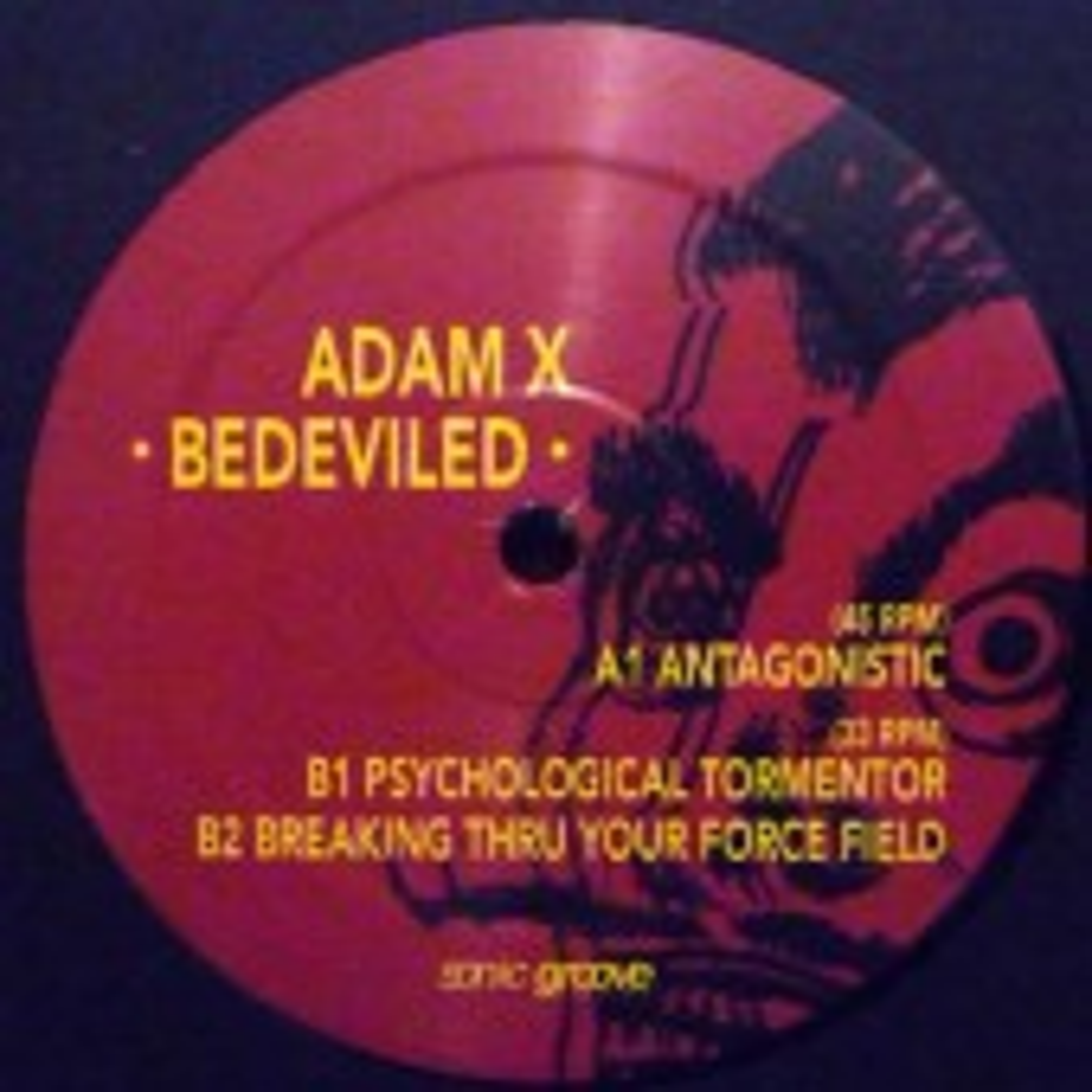 Adam X - Bedeviled - MaxiLP