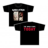 Rabia Sorda - The World Ends Today - T-Shirt