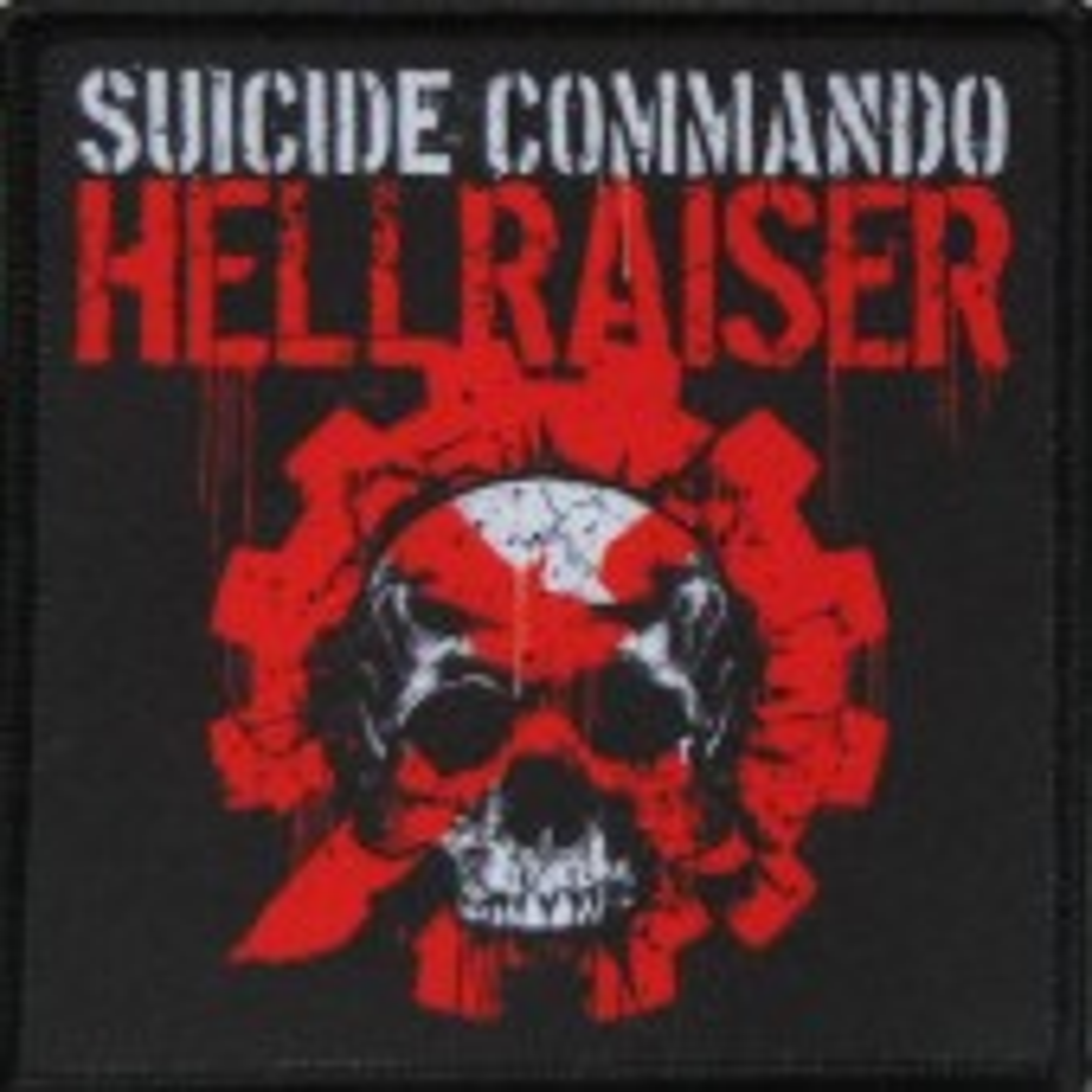 Suicide Commando - Hellraiser - Aufnäher
