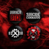 Suicide Commando - 4x Button (3,8 cm) Bundle 2020 - Button