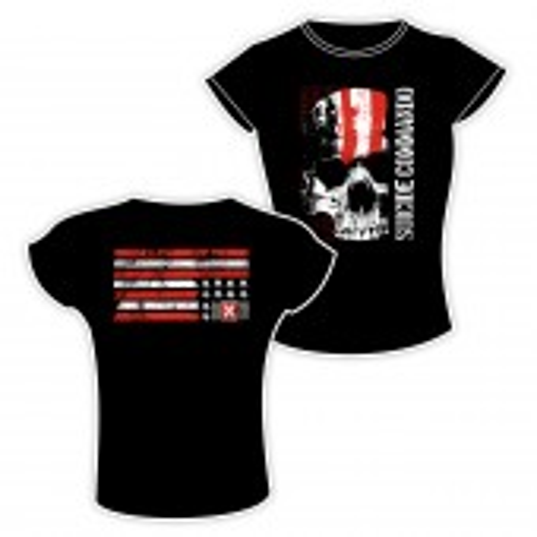 Suicide Commando - Flag - Girlie-Shirt