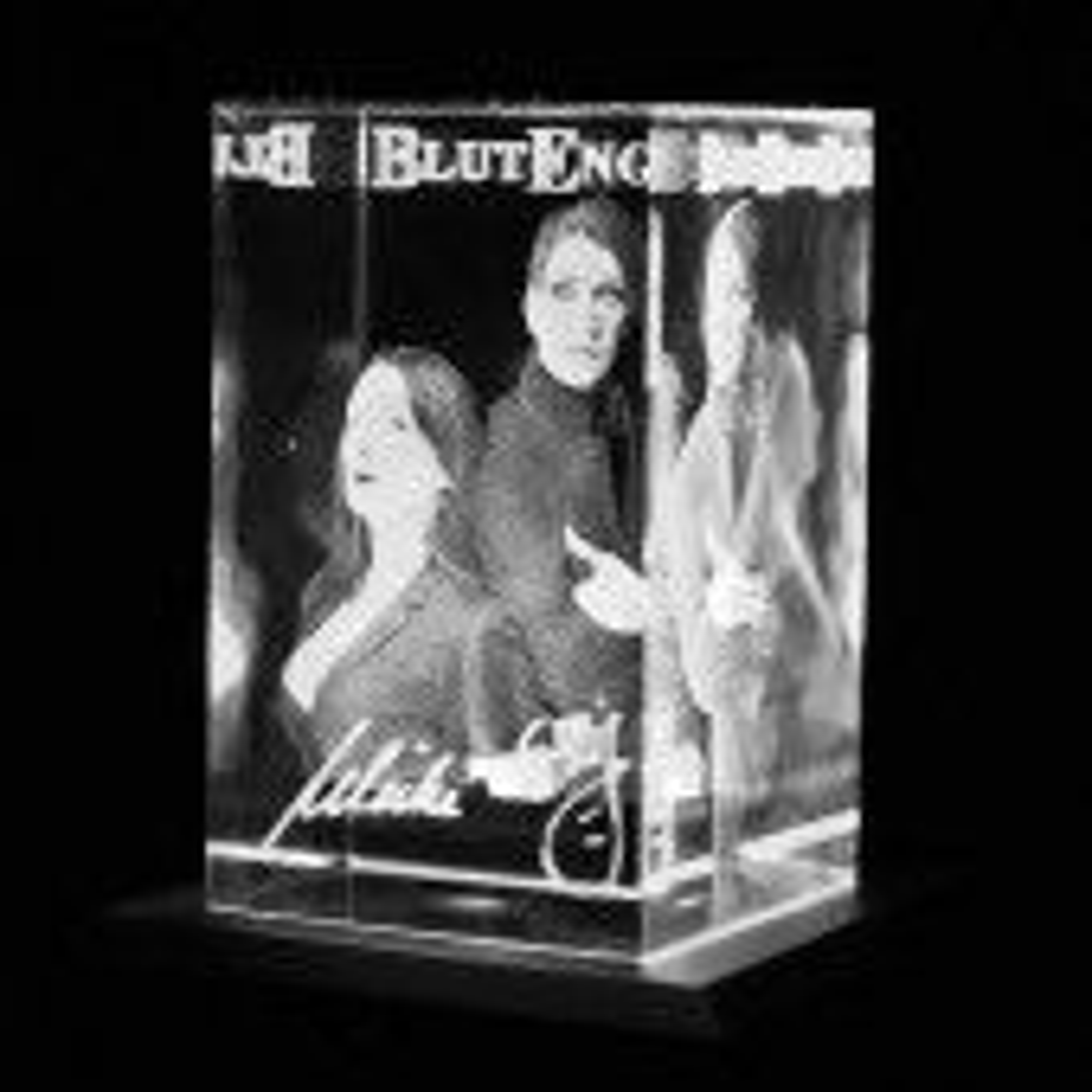 Blutengel - Band - 3D Glaskristall