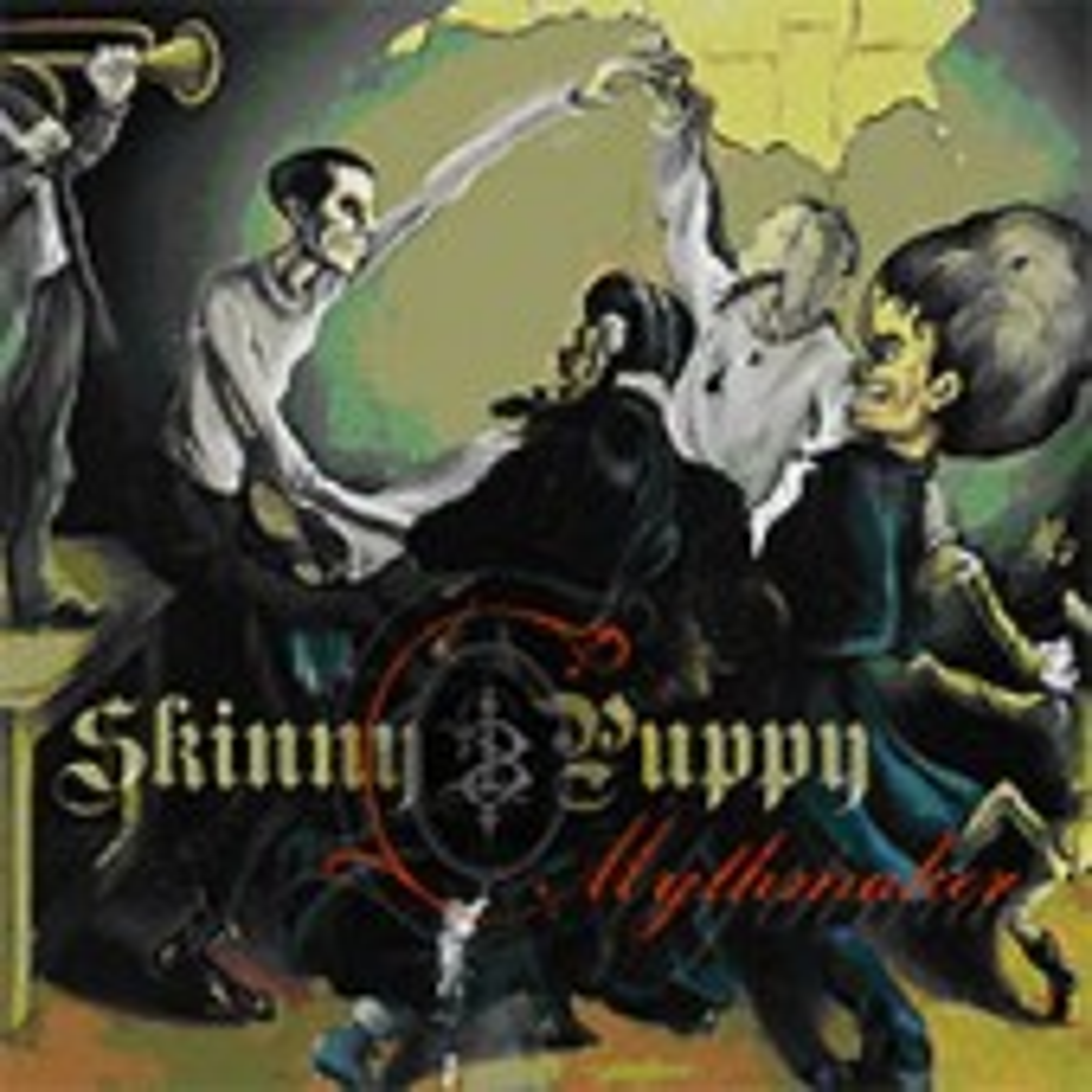 Skinny Puppy - Mythmaker - CD