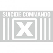 Suicide Commando - Heckscheibenaufkleber - rear window car sticker